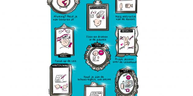 poster-afspraken-tijdens-de-online-les
